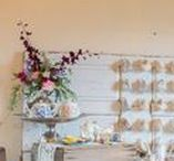 Tea Party / Dainty tea party details and sweet fun hosted in our renovated barn.