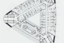 Floor Plan/Planlösning / The architect should strive continually to simplify; the ensemble of the rooms should then be carefully considered that comfort and utility may go hand in hand with beauty.