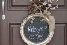 Hello Spring ! / by Bonnie Skubella