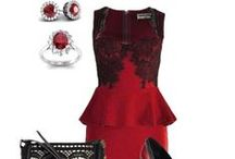 Evening Attire for Her / Most fashionable looks for a night out on the town or a romantic evening at home.