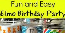 Birthday Party Ideas! / Ideas for kids' birthday parties-- Special emphais on Elmo, Mickey Mouse, and TMNT -Ninja Turtles birthday party ideas!