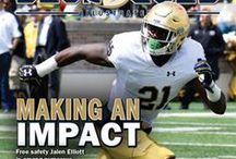 Blue & Gold Illustrated Magazine / Blue & Gold Illustrated is a full-color magazine, published 20 times per year, that covers Notre Dame football, basketball, recruiting and all other sports.