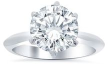 Solitaire Engagement Rings / Our solitaire engagement rings are made from the finest quality materials.  Each of our solitaire rings encompasses a classic and sophisticated elegance.