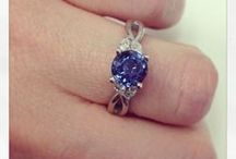 Sapphire Engagement Rings / Sapphire engagement rings feature one of the rarest and most beautiful gemstone of all time--the blue sapphire.  Princess Diana made these gorgeous gemstones popular.  They are affordable and incredibly durable.