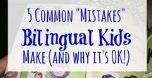 Raising Bilingual Kids: Spanish/Español / Resources for Teaching your child Spanish! ¡Ideas para enseñarle español a tus hijos!