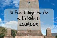 Ecuador / All about travel in Ecuador! Discover the beauty of its cities: Guayaquil , Quito, Cuenca, the Galapagos, the Amazon, and the delicious food and its friendly people!