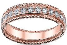Rose Gold Jewelry / Rose gold jewelry has become incredibly popular.  We offer a large variety of solid 14 karat rose gold pieces that are perfect for a wedding anniversary gift, birthday present, or much more.