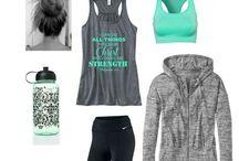 Workout Gear / by Christina Plotner