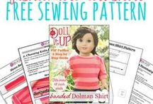 "Sewing for Dolls / It's all about sewing for dolls around here!  We are pinning fabulous tutorials, free patterns and awesome patterns for sale to this board. We focus on 18"" dolls like American Girl, Our Generation, Madame Alexander, and Springfield Collection. We also have a soft spot for 15"" baby dolls like Bitty Baby from American Girl.  This group board is open to new members. If you would like to join, follow this board and send a request to anna@doll-it-up.com."