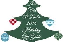 2014 Holiday Gift Guide ~ Gifts and Ideas / Christmas, Halloween, Thanksgiving