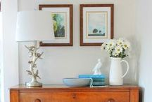 Styling Ideas for Your Home / Styling Ideas - including accessories, tabletops, bookshelves.