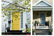 Exterior Design Ideas / Ideas for the exterior of your home including paint colours, front doors and porches.