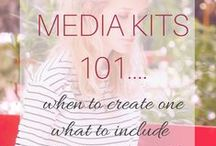 MEDIA KITS / The best advice on creating Media Kits that get your blog noticed. / by Brand Meets Blog
