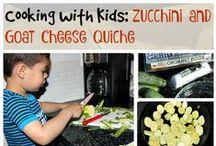 Cooking with Kids / Cooking with Kids is fun and easier than you think! Here are some fun and easy recipes that will help your kids love and learn about food! Cooking with kids is fun and will motivate kids to eat real food, and explore food using their senses.