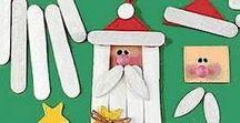 Navidad: Actividades para niños / Actividades para los pequeños: libros, manualidades, y recetas faciles!
