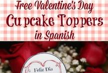 Valentine's Day Activities for Bilingual Kids / Valentine's Day activities for bilingual kids- recipes, crafts, free printables and more fun for your bilingual kids!