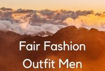 "Fair Fashion Outfit Men / This group is for fair fashion outfit inspirations for men.  If you want to be added, write me a message on instagram or twitter: ""laurelkoeniger"" #fairfashionoutfitsmen"