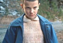 Millie Bobby Brown (Eleven, El) / This is girl with ekstraordinary powers.