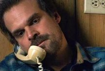 David Harbour (Chief Hopper) / This is a brave sheriff.