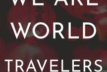 World Travelers / Group board! This board is for expats, digital nomads, and international travelers. If you've traveled in different parts of the world and want to join this group, message me. World travelers, traveling, travelers, nomad, travel. Verticle pins only and no more than 10 pins per day.