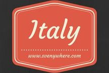 Italy / Italy, food, Italian, travel, stories, Rome, Milan, Florence, tips, tricks, backpack, what to do
