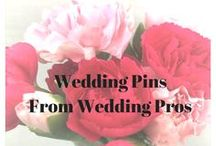 Wedding Pins from Wedding Pros / Find out what Wedding Pros think are the best pins and tips on Pinterest.  To join this Group Board, you need to follow my Pinterest account and email me at: tohaveandtohold333@gmail.com.  I will then add you to the list of collaborators and you're ready to pin!