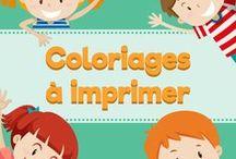 Coloriages gratuit à imprimer / Des jolis coloriages à imprimer gratuitement sur notre site www.amedenfant.fr
