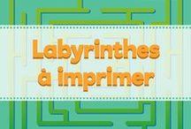 Labyrinthe gratuit à imprimer / N'hésitez pas à télécharger un de nos labyrinthe gratuit sur amedenfant.fr