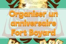 Anniversaire Fort Boyard / Comment organiser un anniversaire Fort Boyard