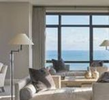 """Chicago Lakefront Luxury Apartment / BALANCED . GROUNDED . REFINED  The vision for this home was to construct an authentic, """"lived in"""", and serene home for hosting and entertaining family and friends.   The home was completely gutted and rehabbed to allow for the desired finishes, including an open concept kitchen and living area that showcased the incredible views of Lake Michigan and downtown Chicago."""