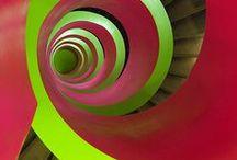 Treppen - Stairs / Verschiedene, moderne und rustikale Treppen. Platzsparende Ideen für Stauraum.