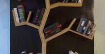 Regale, Wände / Schöne Bücher brauchen einen besonderen Platz zur Aufbewahrung. Bücherregale und Bücherwände sind der ideale Ort dafür.