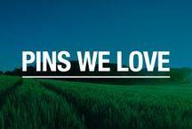 Pins We Love
