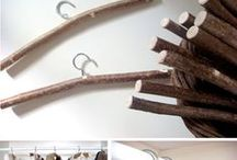 DIY Hangers Ideas / Get your ideas into action!