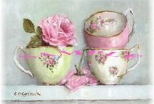 Timeless Teacups Teapots and Other Goodies / A cup of your favorite tea should be enjoyed from your favorite teacup. Beautiful vintage china pieces have enhanced tea-time for generations.