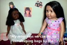 """18 Inch Doll Videos / Watch your 18 inch doll be an actress. You'll love watching your Springfield Dolls in these videos / by Springfield 18"""" Dolls"""