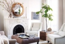 Luxurious Living Room Flooring / Lovely and luxurious living room flooring we love!