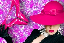 Color Hot Pink & Black / by Denice Boyer