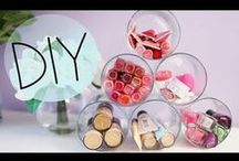 ~ORGANIZED BEAUTY~ / Find creative and DIY ideas for beauty storage!