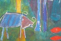 mijn schilderijen / Schilderijen van 2006-2011. Mijn handen beginnen te jeuken: het is tijd voor een nieuwe serie.
