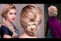 ~HAIR TUTORIALS~ / Hair tutorials from everyday to a fabulous night out on the town!                          #Howto #Updo #WavyHair #Braids #Curls