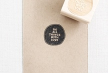 Ink stamp / by Aude S.