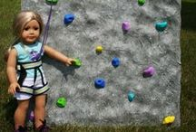"""18 inch Doll DIY Sports & Play / Your doll will have loads of fun outdoors with the DIY sports equipment. Great for your Springfield Doll or other 18 inch dolls / by Springfield 18"""" Dolls"""