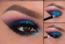 ~EYE TUTORIALS~ / Learn to create beautiful looks!  #EyeTutorial #Howto #Eyemakeup / by Bellashoot.com Beauty