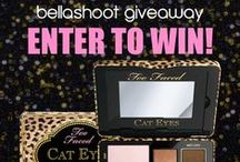 ~GIVEAWAYS & CONTESTS~ / Follow this board for all types of beauty giveaways! / by Bellashoot.com Beauty
