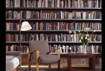 home libraries / Cosy corners to curl up in with a book