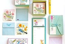 Pretty Stationery & Paper Goods / For the love of pretty paper and beautiful stationery