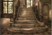 Stairs / I have a fascination with stairs. Circular, sweeping, crumbling, you name it.