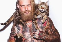 Just Men (often with fabulous Beards or Tats) / Beautiful pictures of handsome men