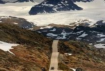 Awesome Roads to travel / These roads not only lead to epic places but are worthy of traveling in themselves.
